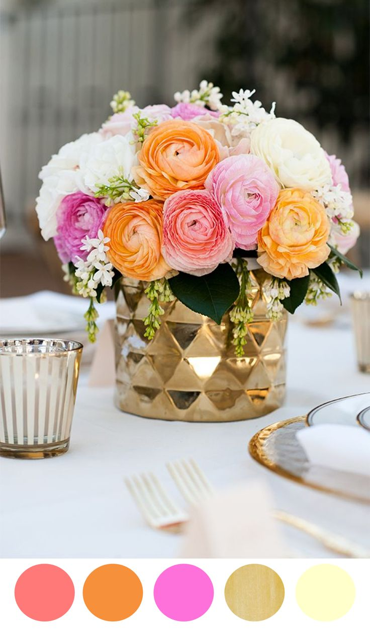8 Color Inspiring Centerpiece Ideas