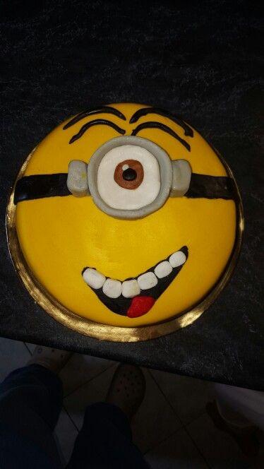 Minions cake , minyon torta