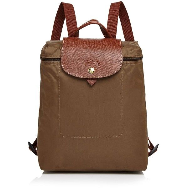 Longchamp Le Pliage Backpack ($125) ❤ liked on Polyvore featuring bags, backpacks, daypack bag, longchamp backpack, longchamp rucksack, knapsack bag and day pack backpack