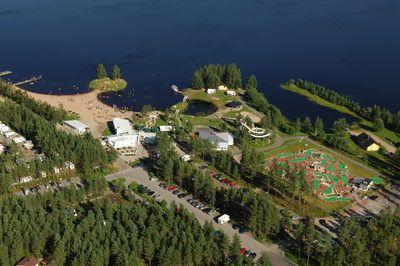 Kalajärvi resort. Peräseinäjoki, Finland.
