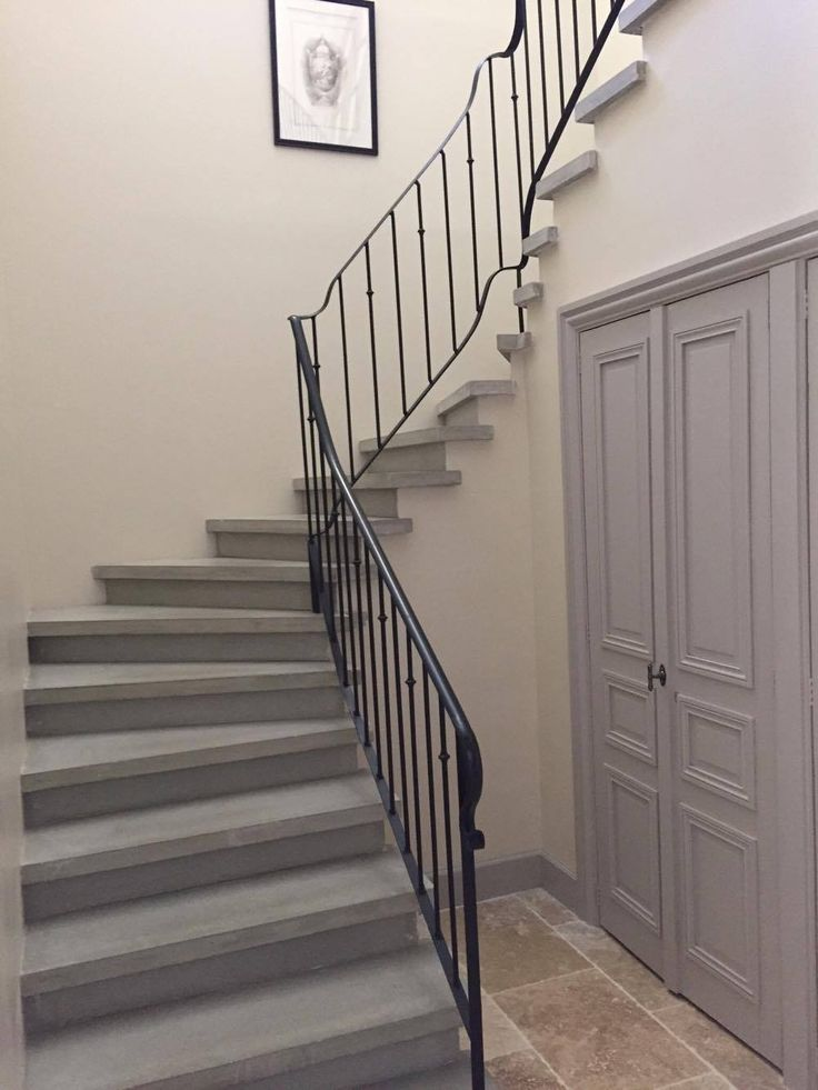 1000 id es sur le th me escalier 2 4 tournant sur for Escalier exterieur beton arrondi