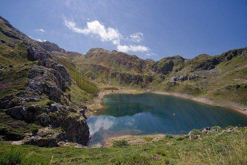 Lagos de Saliencia en Asturias-ESPAÑA EUROPA