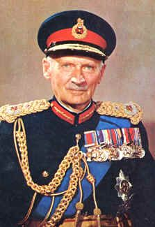 The death on this day 24th March, 1976 of Field Marshal Bernard Montgomery, one of the most outstanding Allied commanders of WWII