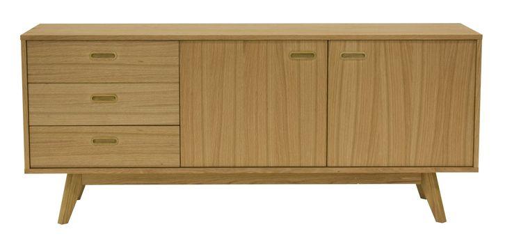 Best 25 sideboard eiche massiv ideas on pinterest for Sideboard lindholm iii