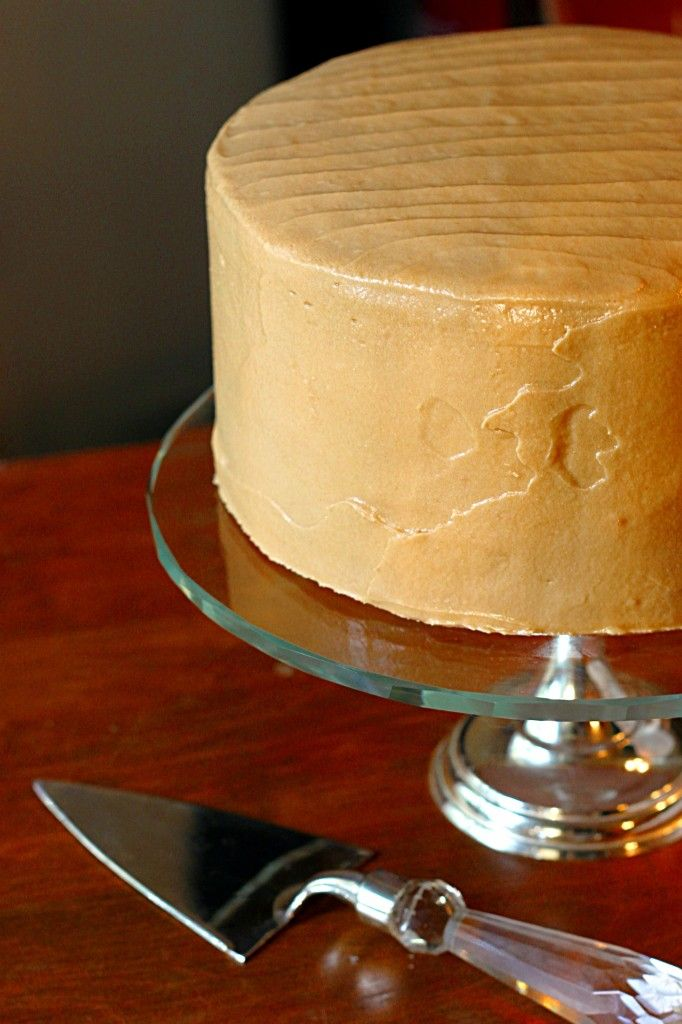Classic Southern Caramel Cake. Hands down the best cake I've ever made.