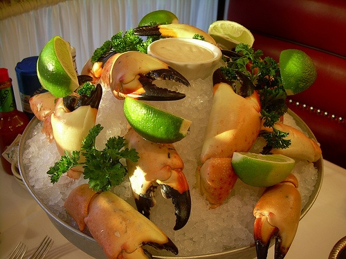 Wanna try Scallops with Wasabi Mashed Potato - Oceanaire Seafood Room - 201 F St. NW, Washington, DC 20004   202-347-2277