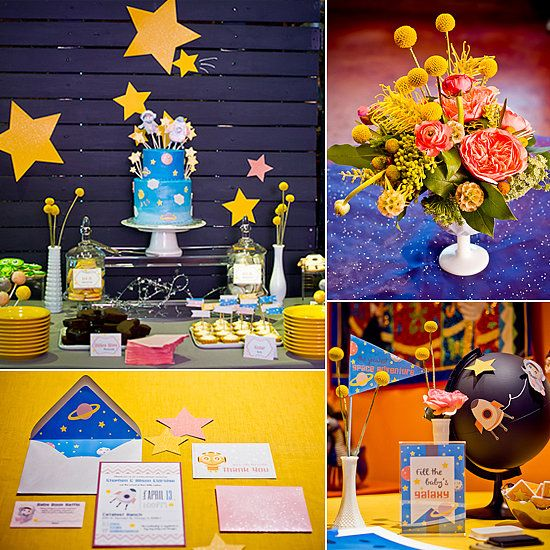 Space Baby Shower Ideas
