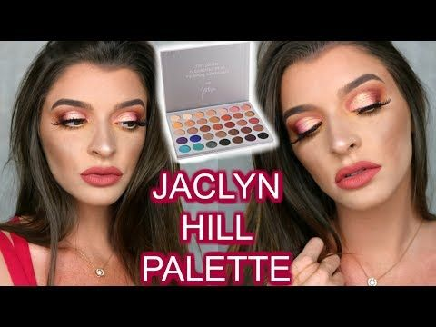 JACLYN HILL X MORPHE PALETTE REVIEW & DEMO - YouTube