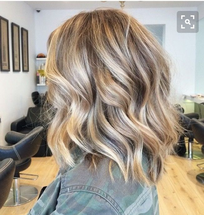 Wondering was size curling barrel I would need to achieve this look? I have thick shoulder length hair currently.