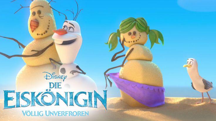 DIE EISKÖNIGIN - VÖLLIG UNVERFROREN - Filmclip: Olaf träumt vom Sommer -...