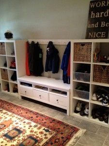 Instant Mudroom and Mini Bar, DIY the Ikea Way!   Tips From Town