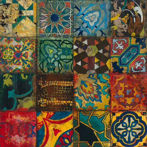 More boho tiles # Arabian Nights II by John Douglas