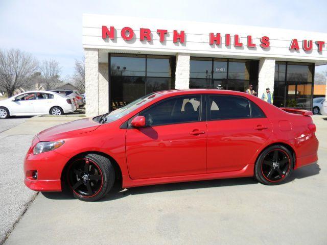 2010 Toyota Corolla, 61,842 miles, $10,993.