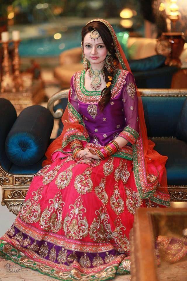 Maria B Bridal Mehndi Collection : Designer mehndi dress collection fashion style