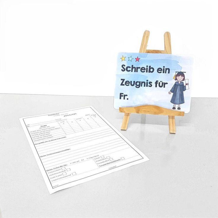 Heute war nun auch in Bayern der letzte Schultag. Damit nicht nur sie selbst eine Rückmeldung über das Schuljahr erhielten, durften die Kinder auch mir ein Zeugnis schreiben, was sie natürlich super fanden   Solche Lehrerzeugnisse gibt es in großer Zahl im Internet, zum Beispiel auch bei 4teachers. Ich wünsche allen Kolleginnen und Kollegen wunderschöne und erholsame Ferien! Lasst es euch gut gehen! ☀  #grundschule #grundschulalltag #grundschulunterricht #grundschullehramt #zeugnis…