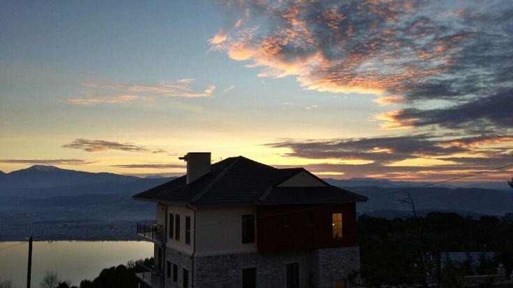 #ioannina #greece #epirus #hotel #sunset #ioanninacity