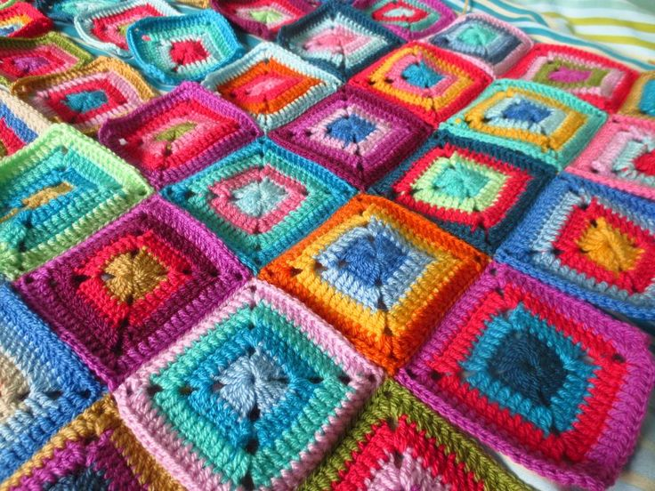Crochet Squares | Little Tin Bird