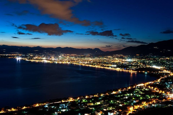 Kalamata by night