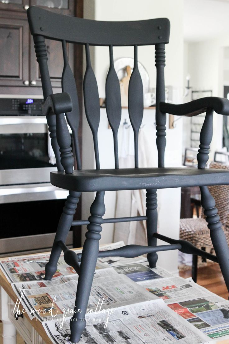 diy painted windsor chairs ergonomic chair living room best 25+ black dining tables ideas on pinterest | paint, table ...
