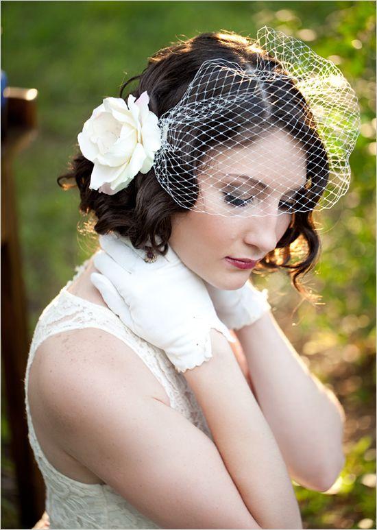 98 best Wedding hairstyles- short hair images on Pinterest ...