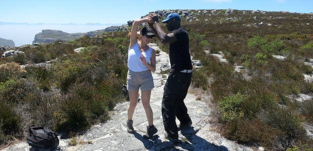 Will you do a happy dance on top of Table Mountain?