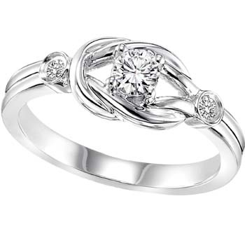 """""""Wrapped in Love"""" knot ring"""