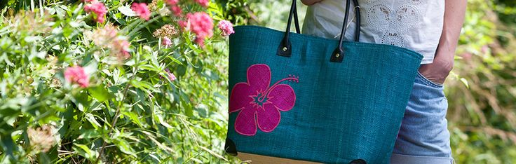 Hula Flower Basket