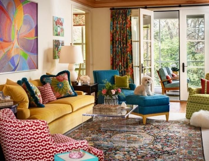 Interesting bohemian home decor living room decorations