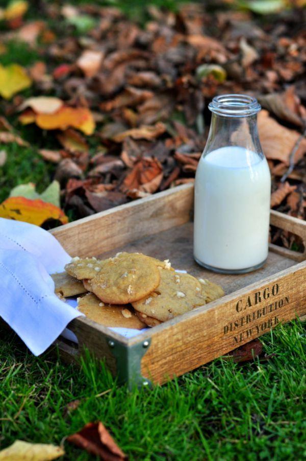 Ciasteczka z dynią i białą czekoladą | Make Cooking Easier