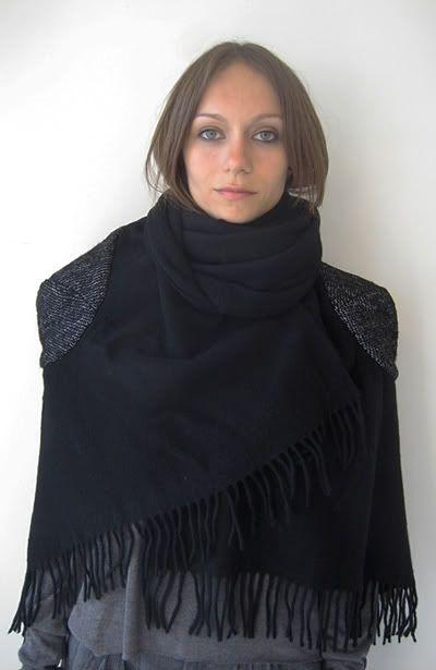 Подборка шарфов с интересным декором.