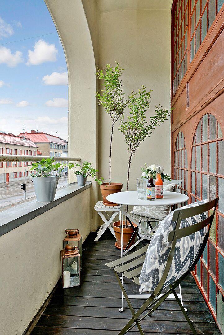 Balkong Apartment BalconiesPatio IdeasBalcony 29