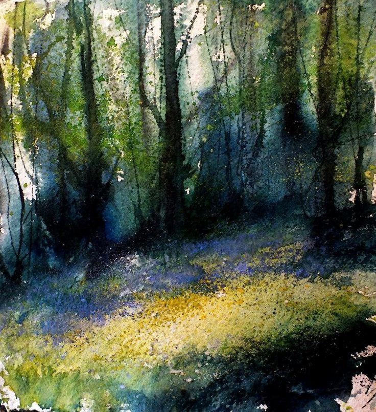 Pete Gilbert - bluebells in Densome