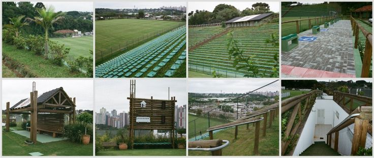 Janguito Eco Stadium - Brazil  With a capacity of 4,200 the Eco Stadium was built by digging seats into the hillside and using timber from reforestation projects to have the least of amount of environmental impact as possible.