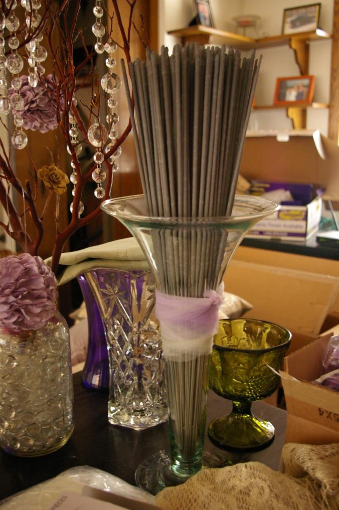SPARKLER display wedding Wedding reception activities