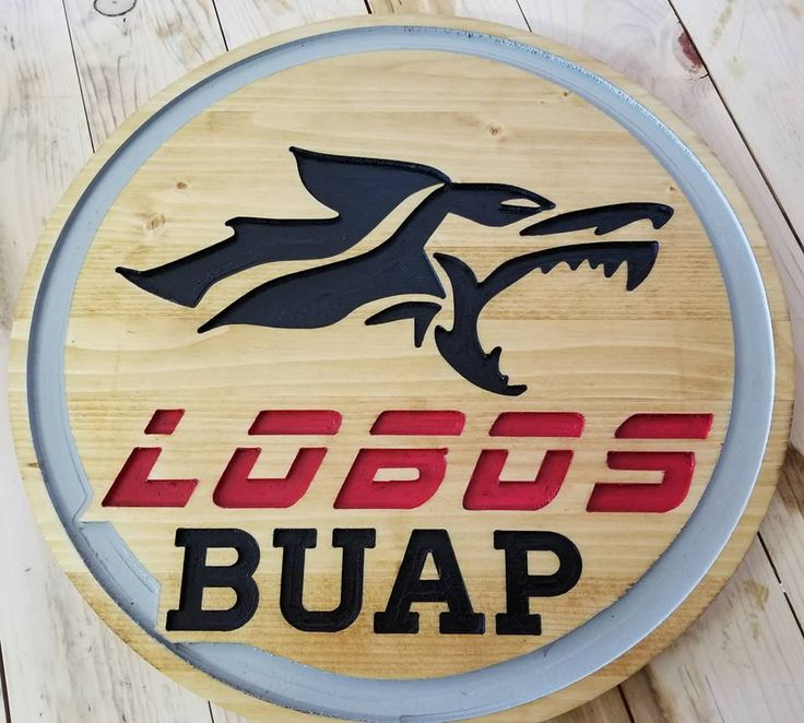 Excited to share the latest addition to my #etsy shop: Lobos Buap Soccer! Wood router sign Painted and stained 16 inch round by 11/16 thick! Perfect for man or lady cave. http://etsy.me/2CeDNFp #housewares #lobos #sports #decor #wood #carving #handmade #cnc #teamsign