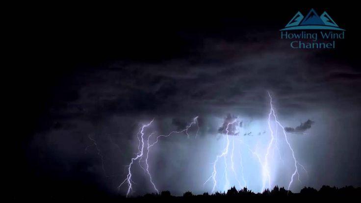 4 hours of rain and thunder, real storm sound for good sleep
