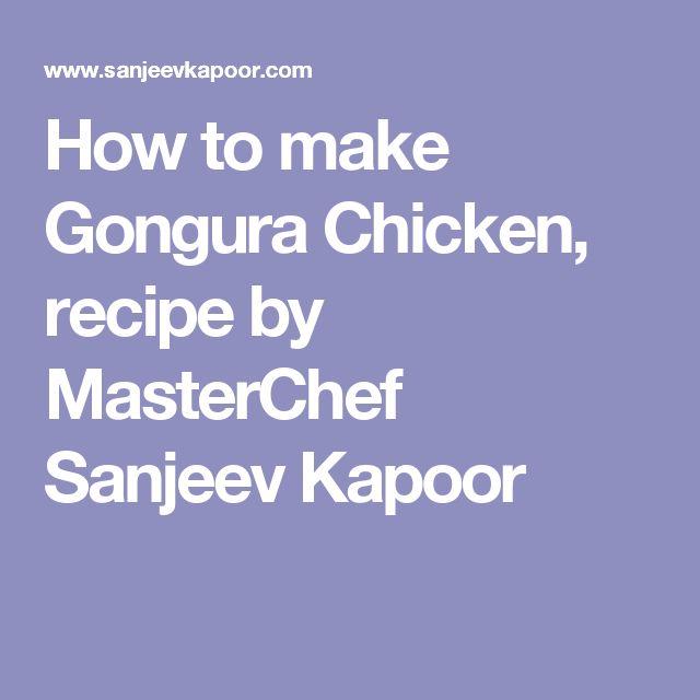 How to make Gongura Chicken, recipe by MasterChef Sanjeev Kapoor