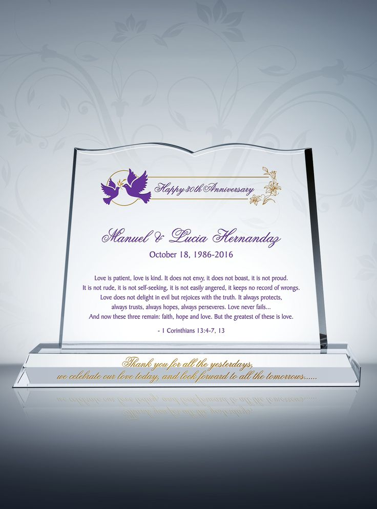 thank you note for wedding gift sample%0A Anniversary Gift for Couple