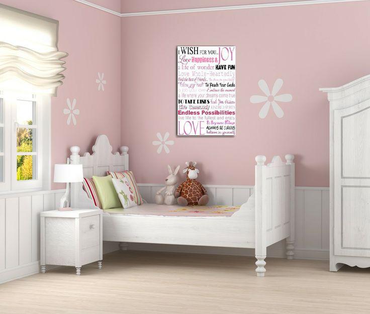 I Wish wall print by Brash Designs