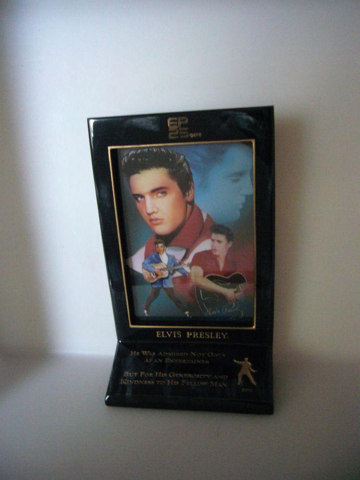 Elvis 25th Anniversary Memorial Plate Bradford Exchange Generosity and Kindness