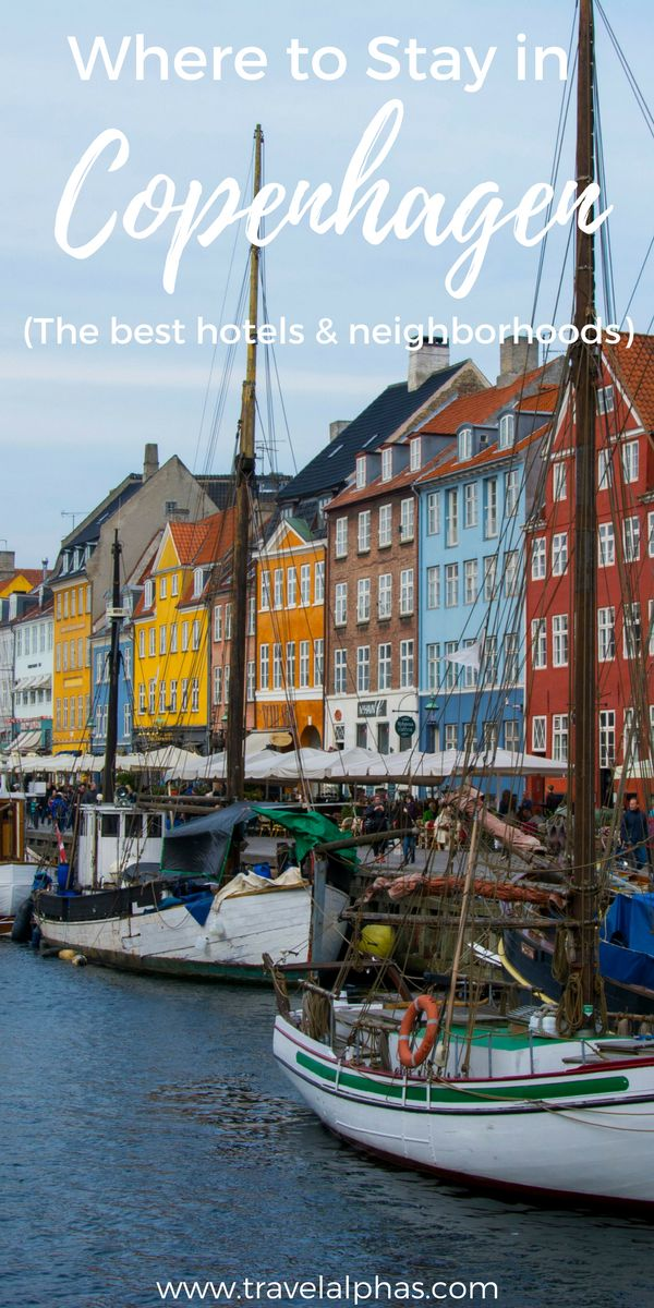 Looking for some Copenhagen, Denmark travel inspiration? When you visit, these are the best neighborhoods and hotels to stay in. Click to find out more. Thanks for pinning!
