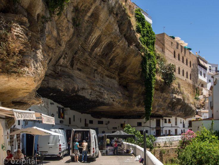 Setenil de las Bodegas, near Ronda, Spain (southern coast)