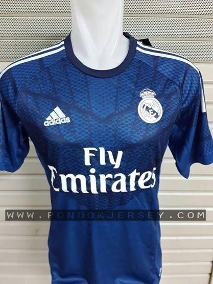 Jual Jersey Kiper Real Madrid musim 2014-2015 ,