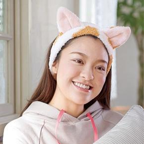 kraso [クラソ] なりきりにゃんこ 猫耳もふもふヘアターバンの会 フェリシモ