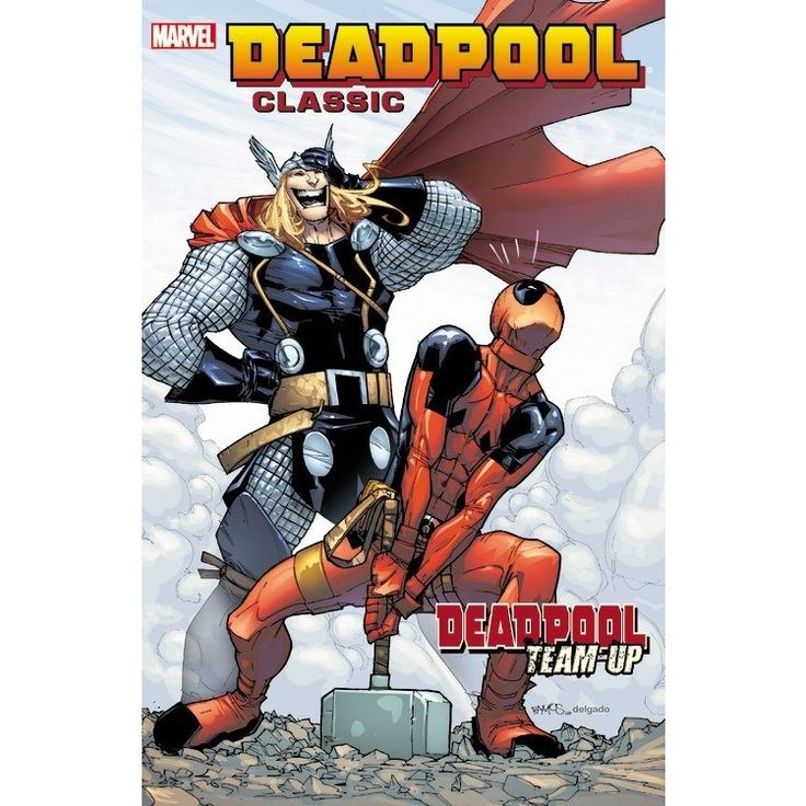 Marvel Deadpool Classic 13: Deadpool Team-up