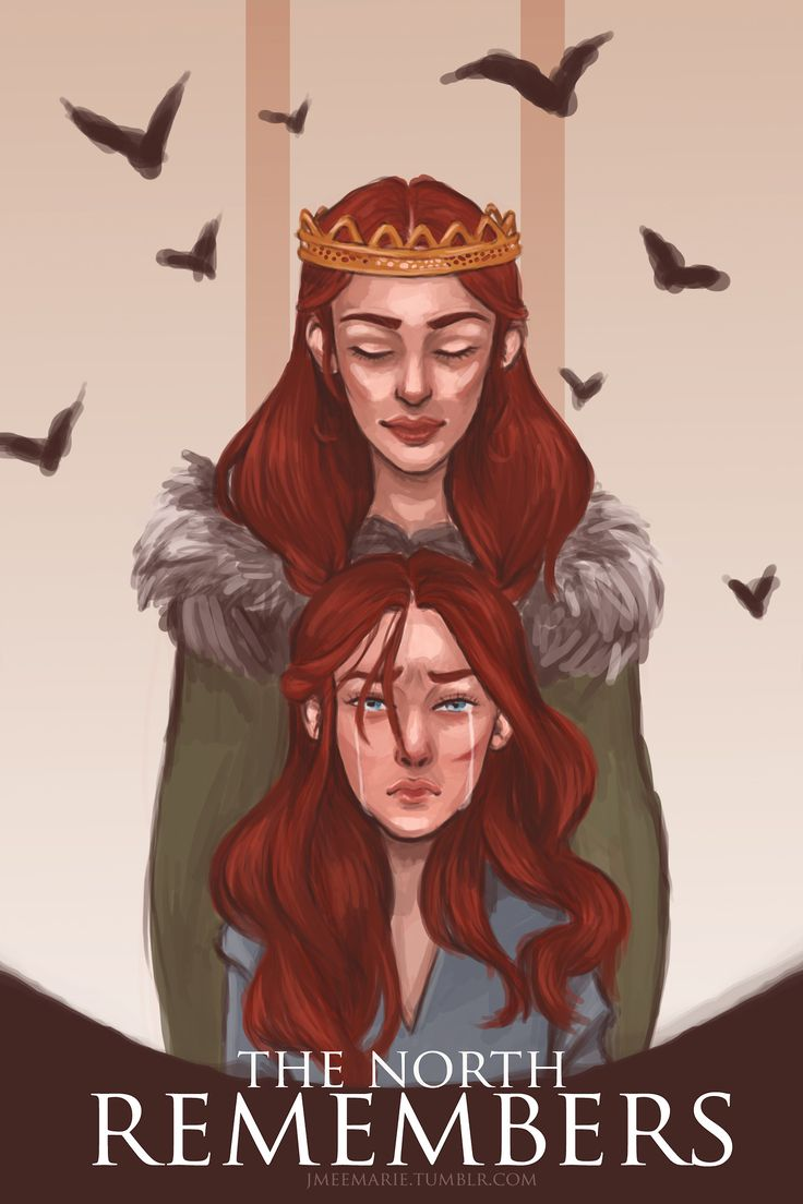 Sansa and Catelyn Stark