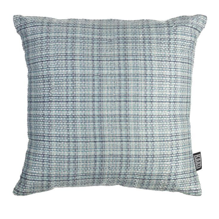 Kussen KAAT Coco Blue - NIEUWE COLLECTIE | Cushion KAAT | http://www.livengo.nl/beddengoed/sierkussens | #sierkussens #blauw #slaapkamer #livengo