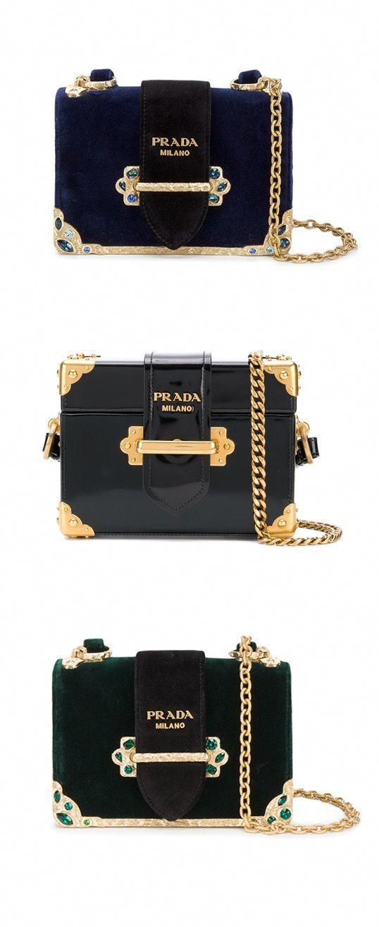 8edee7e9d7 Explore new season Prada on Farfetch now.  Designerhandbags ...