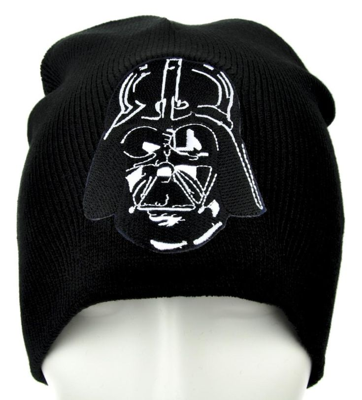 Darth Vader Helmet Star Wars Beanie Alternative Punk Clothing Knit Cap …  #comiccon #patch #occult #occultclothing #anime