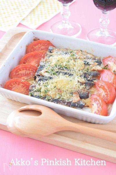 イワシは香草焼きにするとたまらなくおいしくなってワインとの相性も抜群!魚の洋風料理ってホントにおいしいので作る度に毎回、感動してしまいます。パン粉も揚げ物以外でも上手に利用したいものです♪
